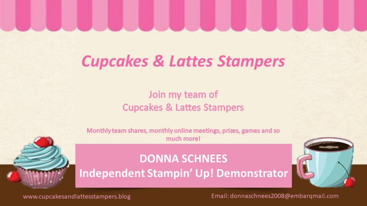 Cupcakes & Lattes Stampers